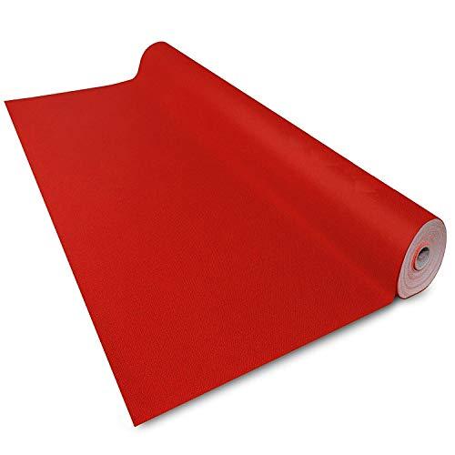Floordirekt Roter Teppich VIP Läufer Event Teppich Premierenteppich Wunschmaß (100 x 500 cm)