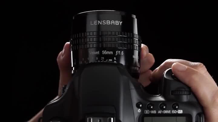Lensbaby Velvet 56 Sony E Porträt Und Makro Objektiv Kamera