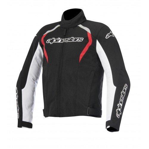Alpinestars Fastback Waterproof Men's Street Motorcycle Jackets - Black/White/Red