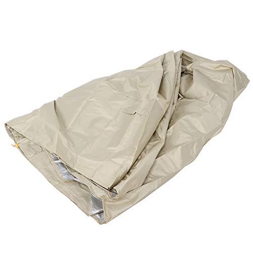 TAKE FANS Furniture Cover - Funda impermeable para sofá o cama al aire libre, color beige