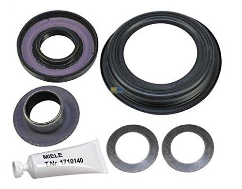 Kit joint axial et bague inox palier lave linge Miele 5387003