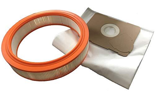 1x Filter + 5x Vliesbeutel geeignet für Protool - VCP 170 E/VCP 171 E-L