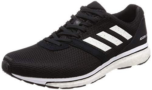 adidas Herren Adizero Adios 4 Laufschuhe, Schwarz (Core Black/FTWR White/Core Black Core Black/FTWR White/Core Black), 44 2/3 EU