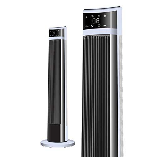GYLTFAN Säulenventilator Mit Fernbedienung,Klimaanlage Lüfter Wasserkühlung Turmlüfter Timer Stille TFASD-725,Black