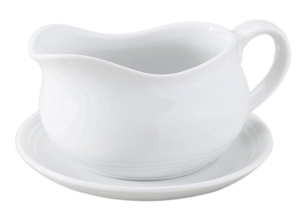 HIC Hotel Saucer Porcelain 24 Ounces
