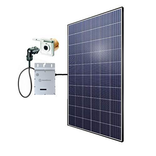 Minisolar Balkon Solar Mono Single 320 W inkl. Einspeissteckdose