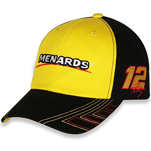 Checkered Flag Sports Ryan Blaney #12 Menards 2021 Velocity Adjustable Hat/Cap