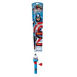Fishing Pole for kids Captain America