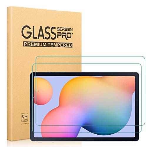 """[2 Pezzi] Vetro Temperato Pellicola Protettiva per Samsung Galaxy Tab S6 Lite 10.4"""" (P610 / P615), salvaschermo in Vetro temperato HD Durezza 9H Anti-Graffo Bolla Libera per Samsung Galaxy Tab S6 Lite"""