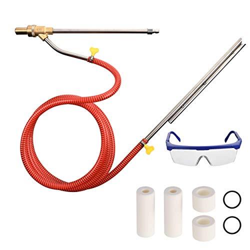 Tool Daily Pressure Washer Sandblasting Kit, Wet Sandblasting Nozzle Tips, 5000 PSI