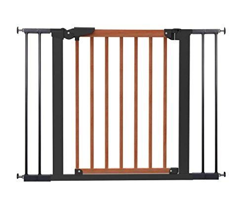 Baby Dan Avantgarde Barrière de sécurité pour porte et escalier à clipser, 71,3-104,1 cm, cerise/noir