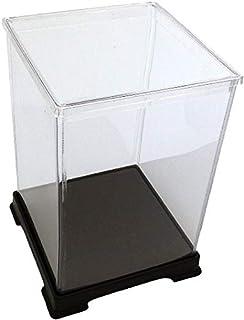 オクタゴン 透明プラスチックケース 横幅21×奥行21×高さ50 cm