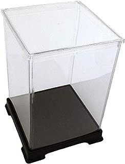 オクタゴン 透明プラスチックケース 横幅32×奥行32×高さ32 cm