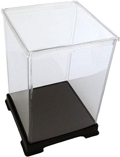 オクタゴン 透明プラスチックケース 横幅12×奥行12×高さ16 cm