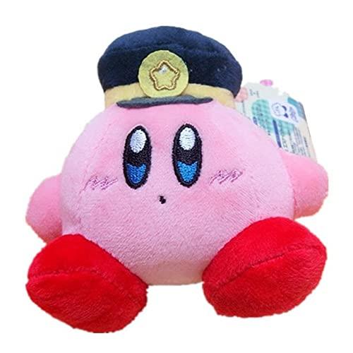 Ruiodr Kawaii Mooie Kirby Star Plushie Sleutelhanger Leuke Mini Gevulde Pop Meisjes Decoratie Peluche Hanger Gift Kinderen Speelgoed 8 Cm E