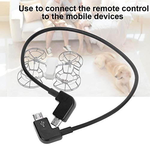 Micro USB Kabel, RC Micro USB Kabel Ersatz Zubehör Kompatibel mit Mavic Mini Drone( Micro-USB zu Micro-USB )