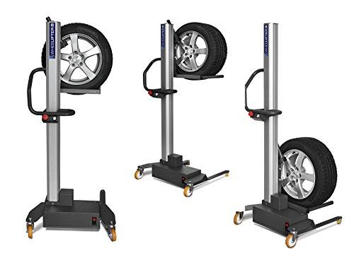 Radheber Elektrisch (Akkubetrieb) für PKW Reifen bis max. 60Kg Wheelifter