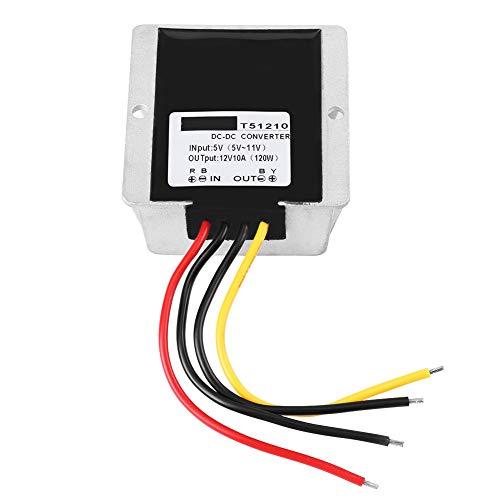 Módulo De Aumento De Voltaje, Convertidor De Impulso Gran Adaptabilidad Bajo Consumo De Energía Para Motores Bombas LED