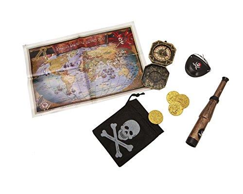 Desconocido My Other Me - Set de pirata de luxe, talla única (Viving Costumes MOM01499)