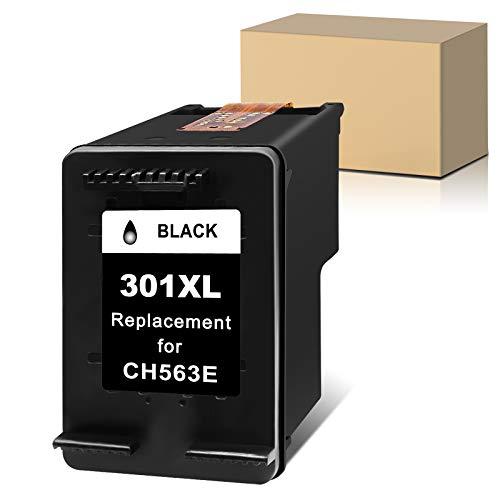 Sunnieink - Cartucho de tinta remanufacturado para HP 301 XL 301XL (1 negro), uso con HP Envy 5530 4500 4507 5532 DeskJet 1510 2544 2540 3050a 1050 1512 OfficeJet 4630