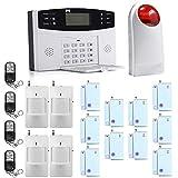 Système d'alarme, Ectech Sécurité sans fil GSM Autodial Call Home Système...