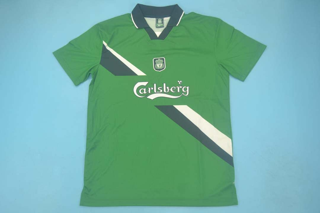 HAO McAllister#21 Retro Direct stock discount Jersey 1999-2000 Green Patch Max 45% OFF Color Full