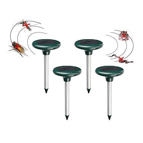 Al Aire Libre de la energía Solar por ultrasonidos Repelente de plagas, Resistente al Agua, for el jardín Mole Repelente ultrasónico Mole Serpiente