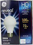 GE Lighting 72W Soft White Reveal A Line Halogen Bulb; 4 Pack