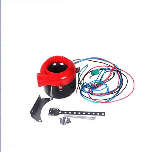 ZYTANG® Turbo Coche electrónico Válvula de Descarga Fake Turbo Blow Off Off...