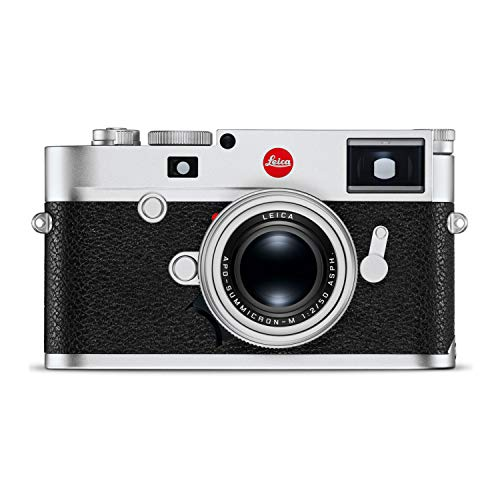 Leica M10-R 40MP Digital Rangefinder Camera (Body Only, Silver Chrome)