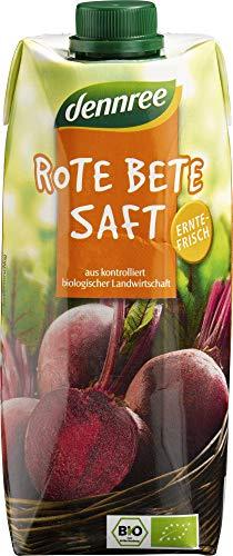 dennree Bio Rote Bete Saft (6 x 500 ml)