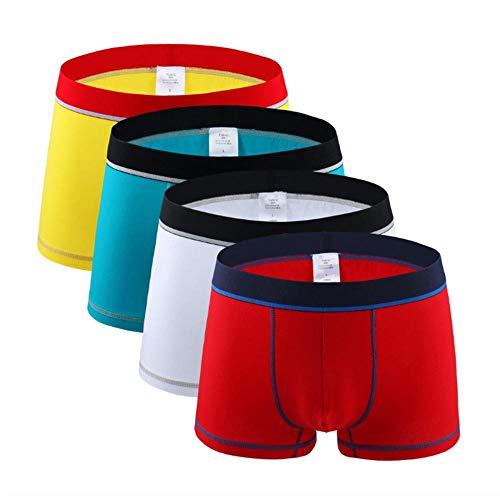 4 Stück/viele Mode große Herrenunterwäsche Herren Boxershorts Baumwolle Boxershorts Herren Herren Unterwäsche Boxershorts Herren 12_XL