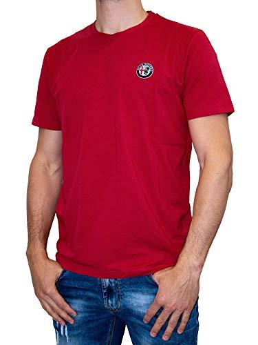 Alfa Romeo Racing Team Sauber Motorsport Herren Logo T-Shirt, XXL