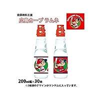 齋藤飲料工業 広島カープ ラムネ 200ml瓶×30本 1067327