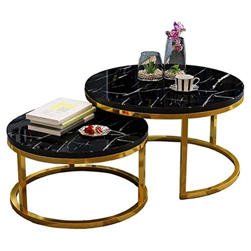 WUKALA Coffee Table/Pedestal Tables/Coffee Tables/Nesting Tables/Bedside Table/Side Table/Round Tables/Living Room Table Sets