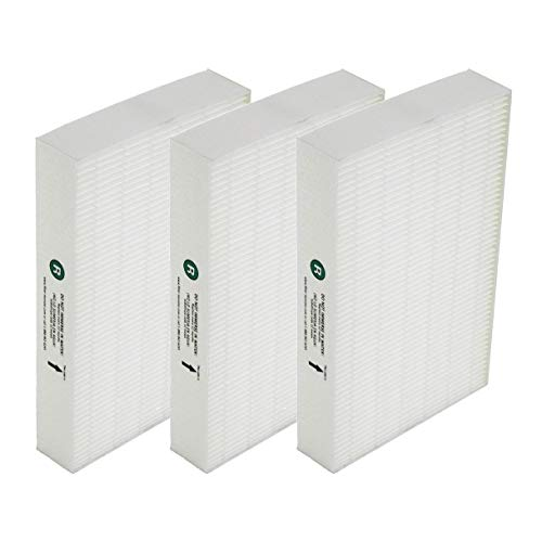 AQUA GREEN Honeywell HRF-R2,R3 True HEPA Compatible Replacement Filter R (3 Pack)