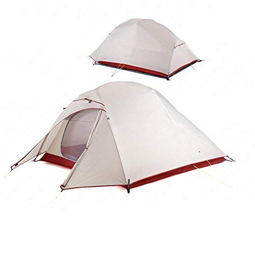 Tent Upgrade Cloud Up NH17T001-T - Tent de camping para 1 2 3 personas (silicona, ultraligera, con alfombrilla gratuita)