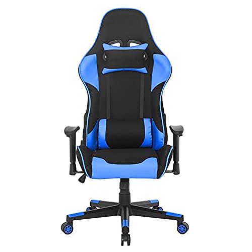 WEUN Sedia Gaming Poltrona Ergonomica, Sedia da Ufficio Sedie da Gaming Girevole con Rotelle Altezza Regolabile e Supporto Lombare