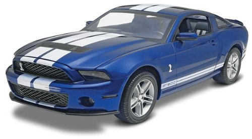 2010 ford shelby mustang gt500 1/12 revell