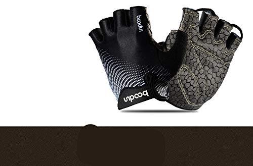 YCJCGG Laser serie fitness handschoenen slijtvaste training halter sport handschoenen halve vinger