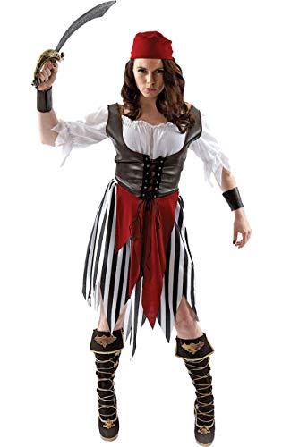 ORION COSTUMES Costume de déguisement pirate pour femmes
