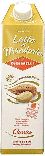 Condorelli - Bevanda al Latte di Mandorla - 6 pezzi da 1 l [6 l]