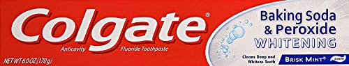 Colgate, Baking Soda and Peroxide Whitening Toothpaste 6 Ounce