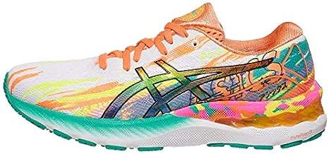 ASICS Women's Gel-Nimbus 23 Running Shoes, 10.5, HOT Pink/Sour Yuzu