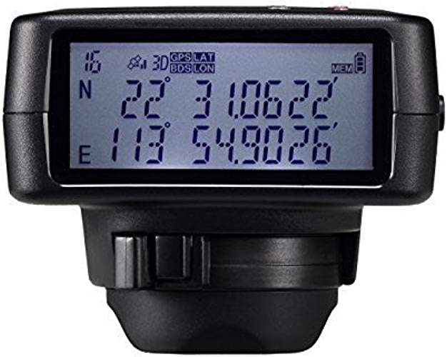 Solmeta GMAX-GF Photo Video GPS BDS Dual-positioning Geotagger & bleutooth Shutter Release for Nikon camera D750, D610, D7200, Df & Coolpix A...with 4GB Flash,1900mAh Li-ion, Altimeter,eCompass,LCD...