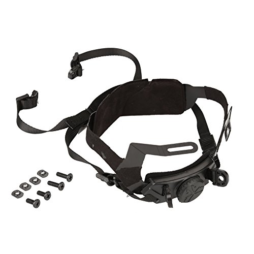 Helmet Chin Strap,Outdoor Adjustable 4 Points Chin Strap Compatible with Fast Helmet Accessory (Black)
