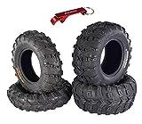 Kenda Bear Claw EVO ATV UTV All Terrain Mud Bearclaw Tires with Bottle Opener...