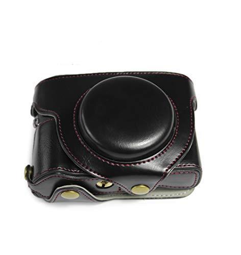 kinokoo - Funda para cámara Canon G5X Mark II con buena protección para Canon G5XII G5X2 (Negro)