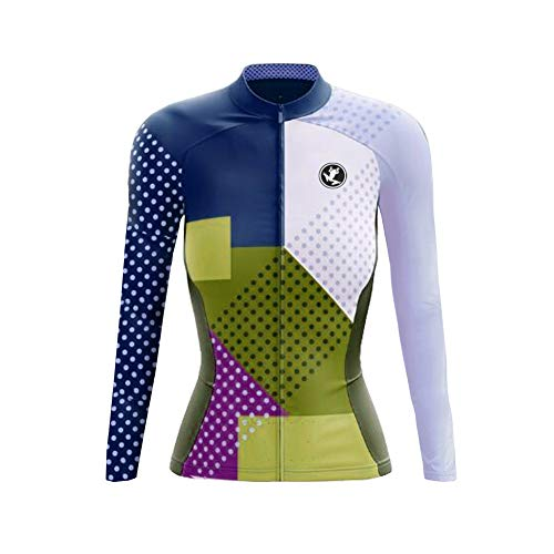 UGLY FROG Neue Frühling & Herbst MTB Fahrradtrikot Langarm Shirt Damen Breathable Radfahren Fahrrad Lange Hülsen Jersey Fahrrad Hemd Frauen Langarm Fahrradbekleidung