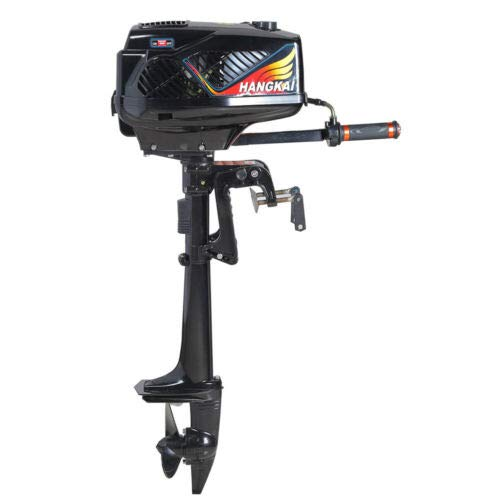 Review CNCEST 2 Stroke 3.6HP Gasoline Outboard Motor Corrosion-Proof Boat Motor Boat Engine Brushles...